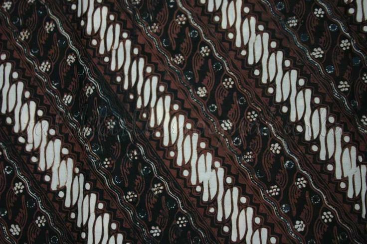 Batik Sogan Yogyakarta Motif Lerek Seling Gondho Suli-2