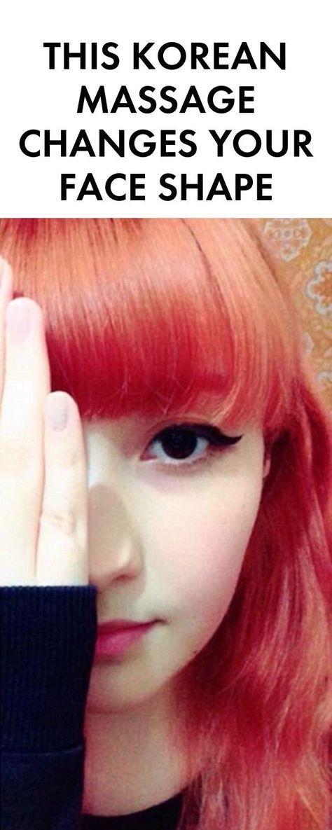 This Korean Massage Changes Your Face Shape