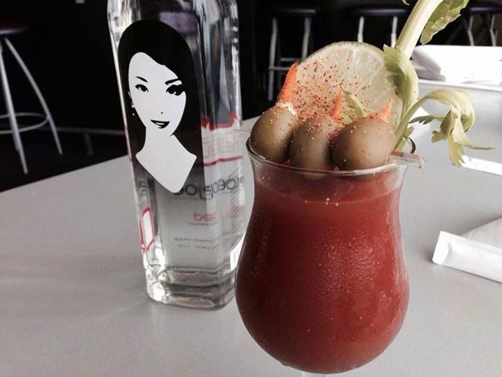 It's always....byejoe bloody mary time at Sushi King.