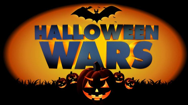 HD Logo Halloween Wars Wide