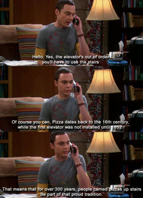 Sheldon Quotes are The Best!!