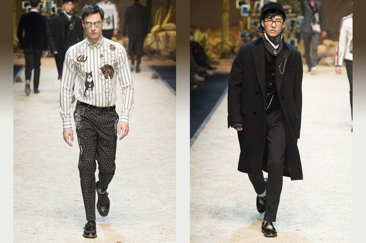 Мужская коллекция Dolce&Gabbana осень-зима 2016  Подписывайся на новости https://vk.com/zhiletki_iz_pesca