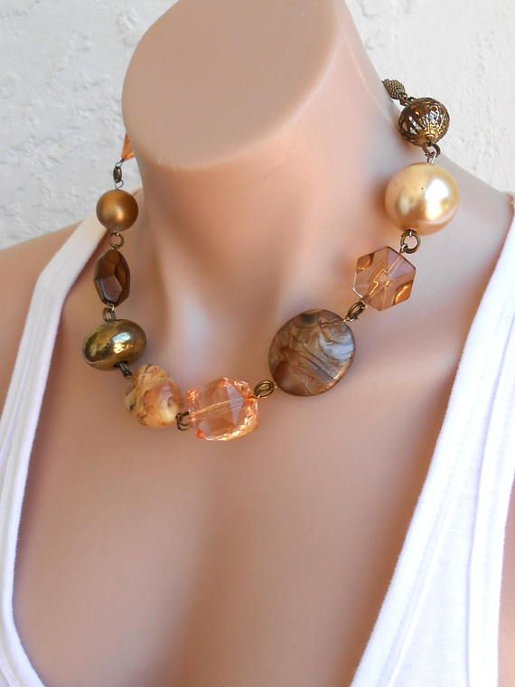 Free Shipping Chunky Necklace Statement Necklace Contemporary