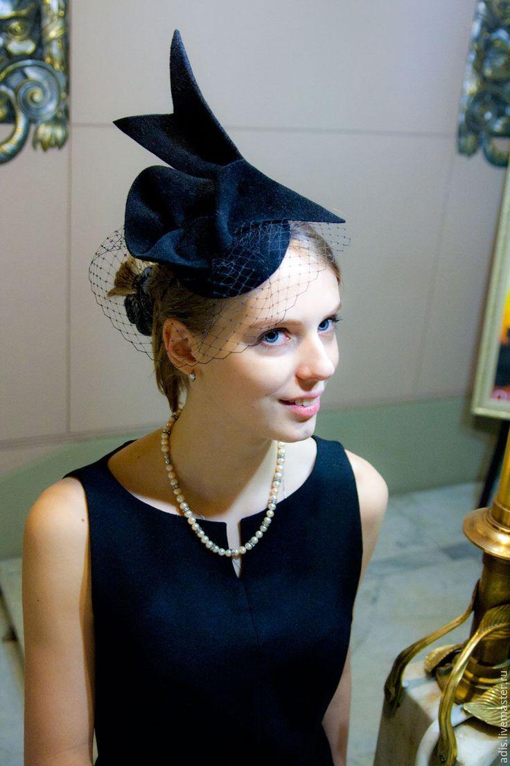 Купить Коктейльная шляпка «птица» - коктейльная шляпка, шляпка, шляпа, коктейльная шляпа, шляпка коктейльная