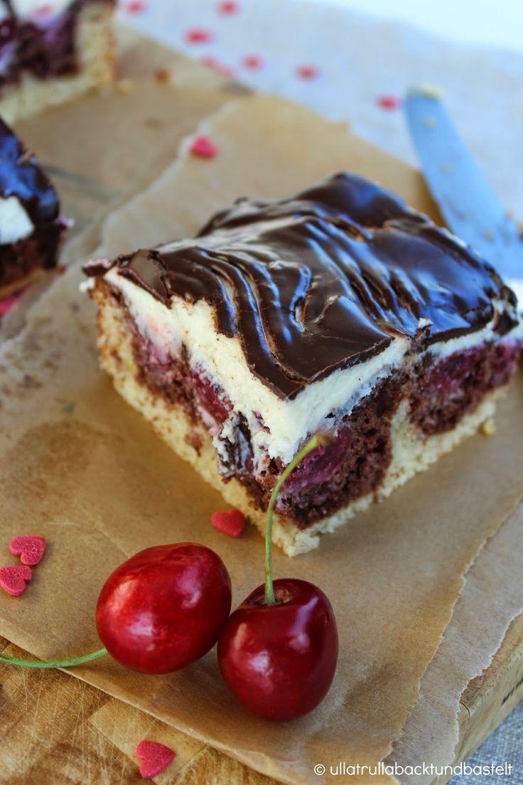 ullatrulla backt und bastelt: Kuchen wie von Oma | Rezept für Donauwelle