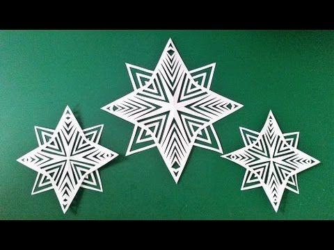 Snowflake STAR - easy to cut