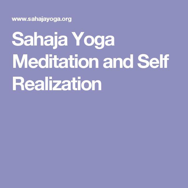 Sahaja Yoga Meditation and Self Realization