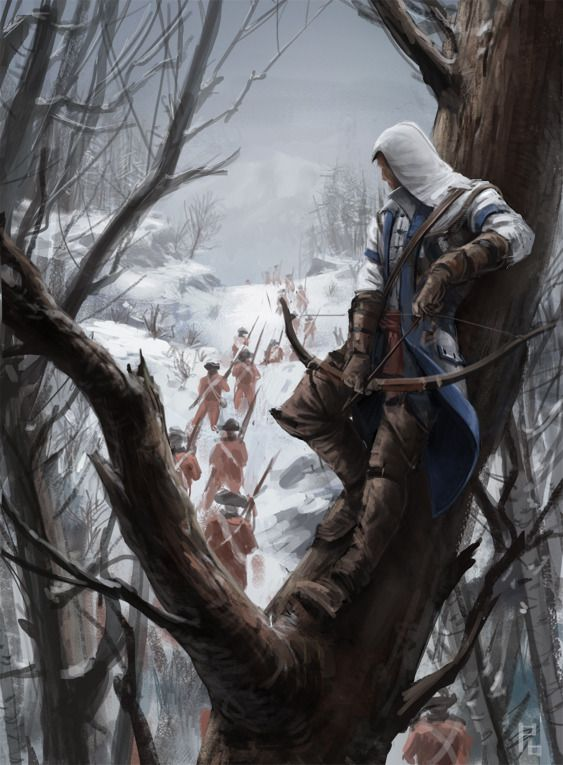Assassin's Creed 3: Connor - by Pierre Bertin.  Had my doubts about this game.  But. It. Is. Epic!