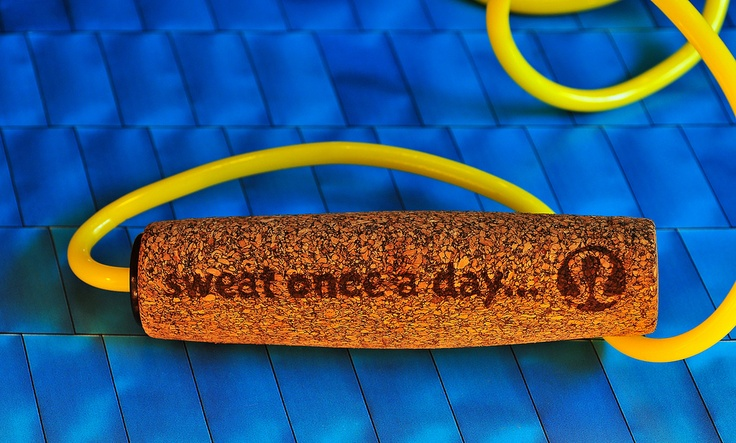 Lululemon Jump Rope ~ sweat once a day... ~ Image by JM