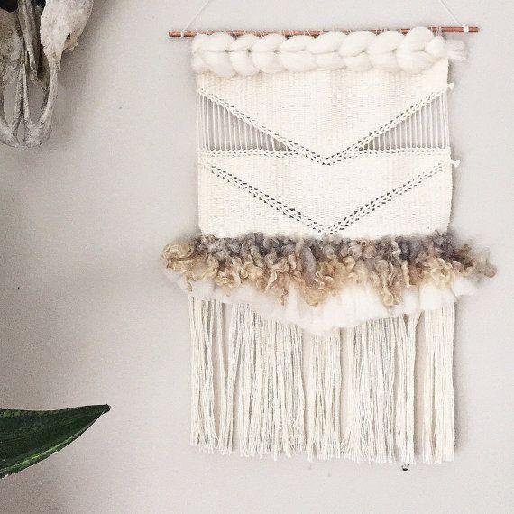Soumak Weaving // Woven Wall Hanging // Woven Tapestry