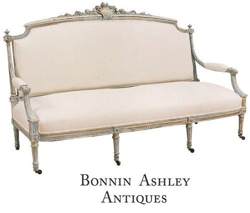 View this item and discover similar sofas for sale at   A beautiful Classic Louis  XVI style sofa in polychrome finish  circa 1870 with well articulated  399 best Furniture sofa images on Pinterest   French sofa  Louis  . Louis Xvi Style Furniture For Sale. Home Design Ideas