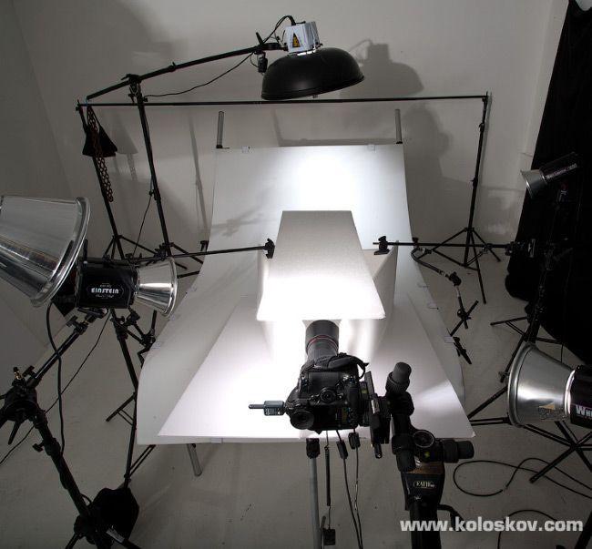разными тематическими схемы освещения в предметной фотографии она