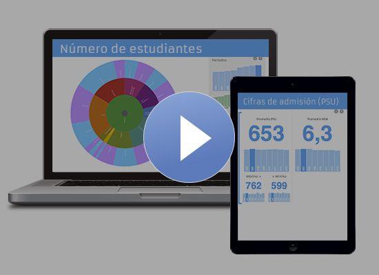 Conoce el número de estudiantes y cifras de admisión (PSU). Ver más en http://uchile.cl/u108590