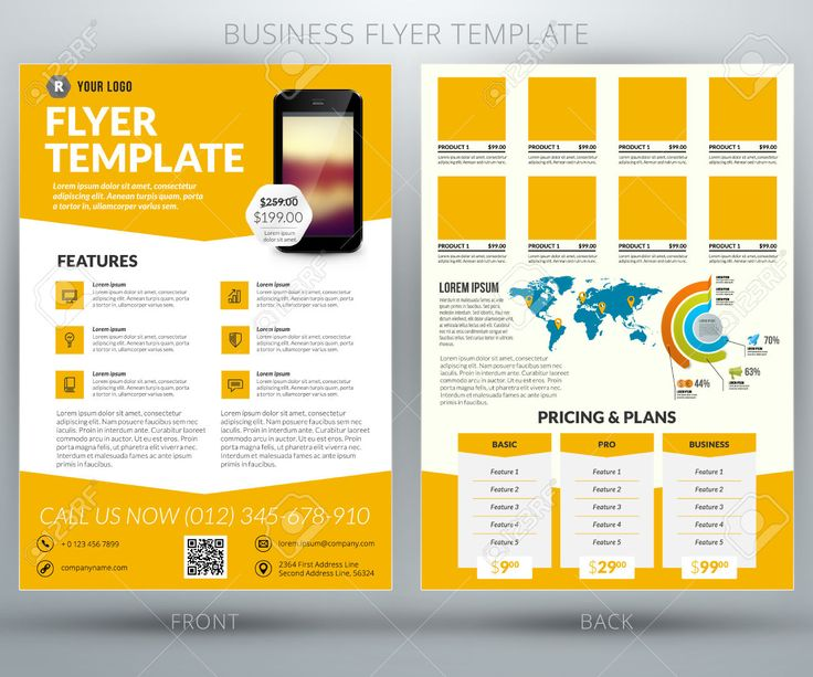 Best Fact Sheet Design Images On   Business Flyers