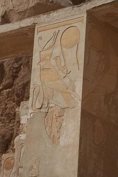 The Hawk of the Pharaoh, Hatshepsut - Temple at Luxor