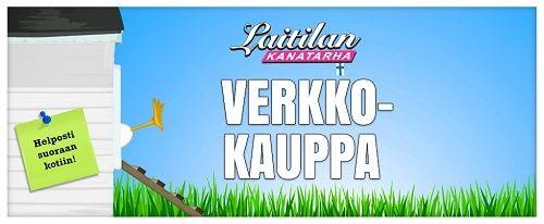 Suomen ensimmäinen kananmunaverkkokauppa avattu www.laitilankanatarha.fi/verkkokauppa