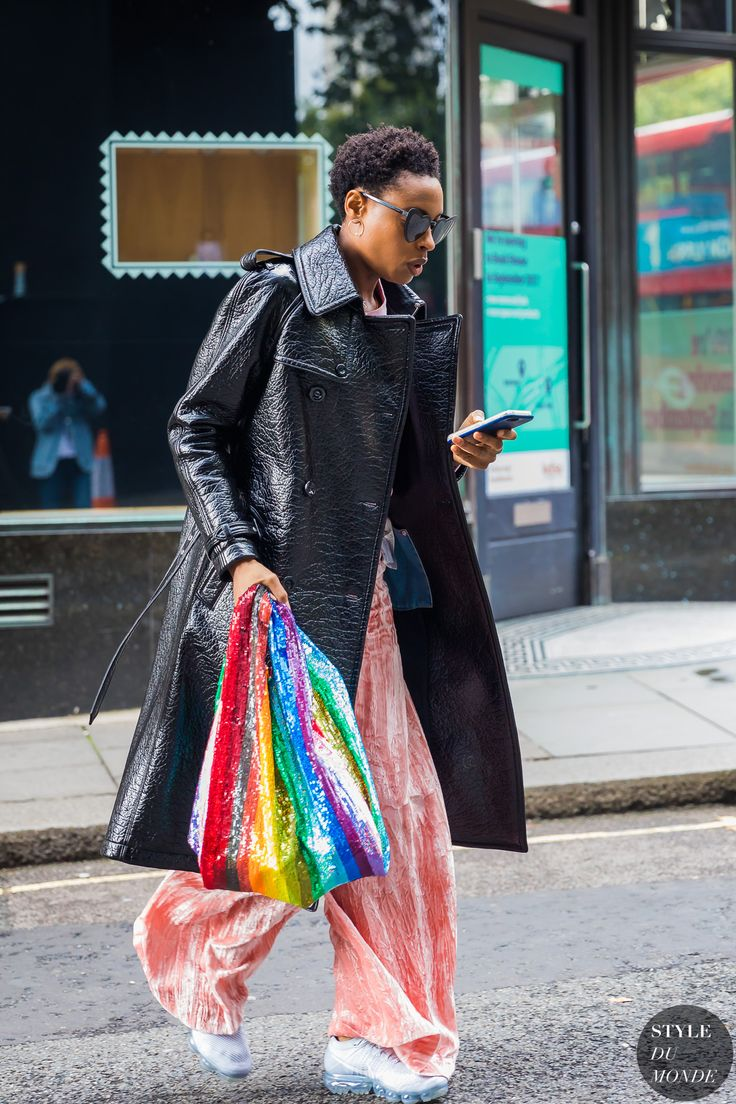 London SS 2018 Street Style: Donna Wallace
