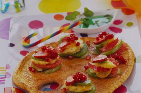 Tavolozza di sfoglia con #frutta mista   #Carnevale #Carnival #ricette