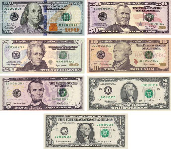 690px Usdnotes Png 690 602 Money Bill Dollar Money American Dollar