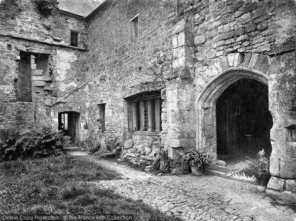 Old Cleeve, Cleeve Abbey, The Abbots House 1919, from Francis Frith