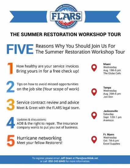 5 Reasons why the you should attend the summer restoration workshop