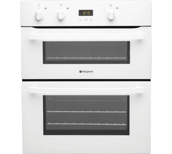 Buy Hotpoint UH53WS Double Electric Oven - White at Argos.co.uk, visit Argos.co.uk to shop online for Built-in ovens, Cooking, Large kitchen appliances, Home and garden