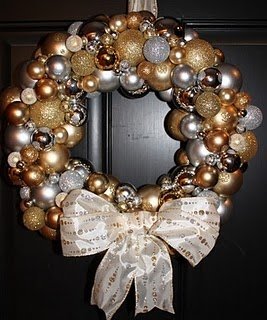 cute : Christmas Wreaths, Crafts Ideas, Wreaths Ideas, Front Doors Wreaths, Christmas Ornaments, Holidays Wreaths, Christmas Ideas, Ornaments Wreaths, Christmas Door