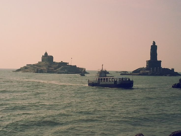 Places to visit in Kanyakumari - Get detailed information on top tourist destinations. The Kumari Amman Temple, The diamond nose ring, the Gandhi Memorial, Cape Comorin are top tourist places to see in Kanyakumari