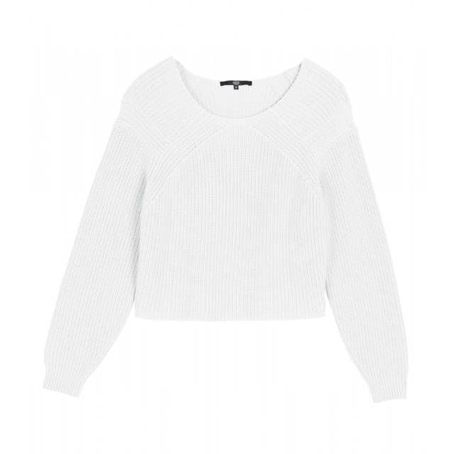 Tibi White Pull Over Sweater - Your guide to the normcore trend: http://www.harpersbazaar.com/fashion/fashion-articles/normcore-trend