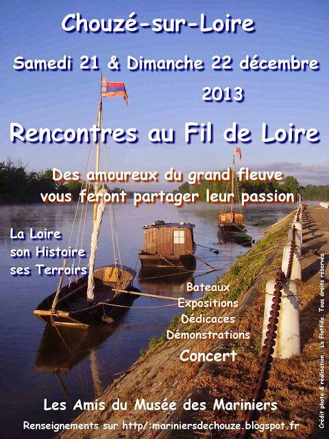 Rencontres au Fil de Loire Décembre 2013 L'affiche