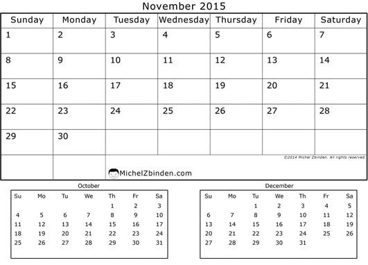 Feel Free to Download November 2015 Calendar NZ and November 2015 Holidays. Nov Calendar Printable Template, PDF Doc, MS Word, Excel, Page, Notes, Vector.