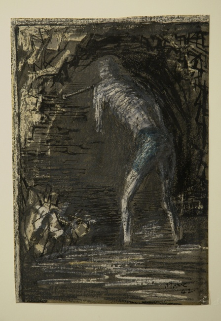 Miner Drilling by Henry Moore - The Art Fund - national fundraising charity for works of art