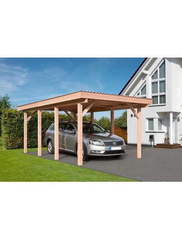MR. GARDENER Einzelcarport »Erding 1 PVC-Dacheindeckung 338 x 572 cm«