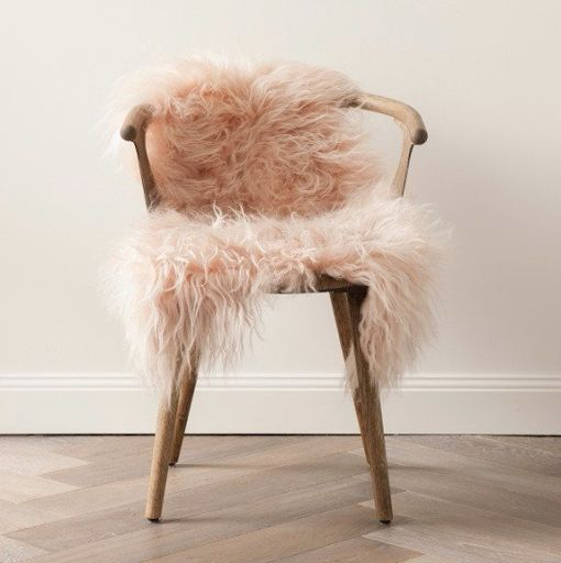 Icelandic Sheepskin Blush The Corner Booth