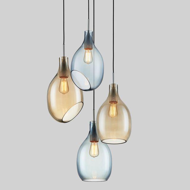 Semplice Vetro Lampade A Sospensione Moder Minimalista LED ...