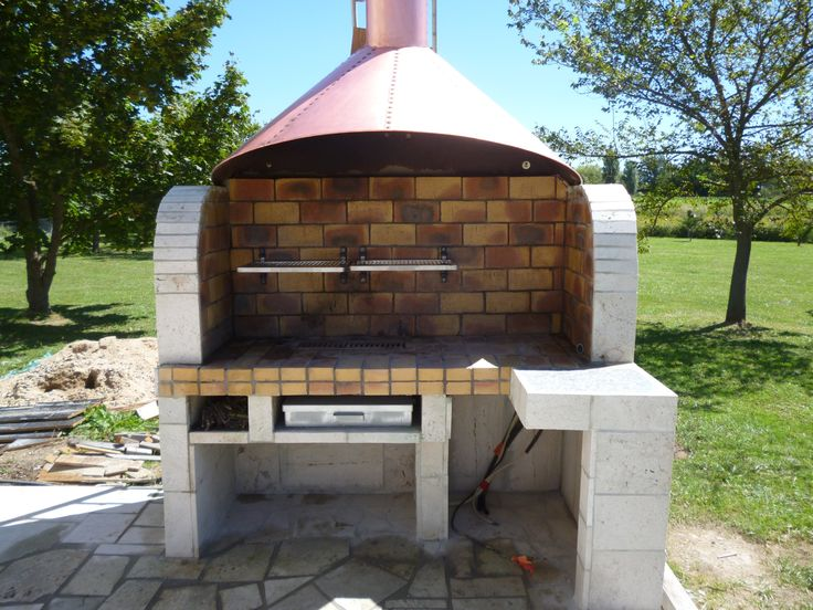 Barbecue instructions de montage do it yourself bosch au jardin en ext ri - Beton cellulaire exterieur barbecue ...