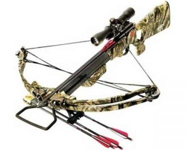 Pse reaper crossbow package with red dot 185 lbs for Crossbow fishing bolts