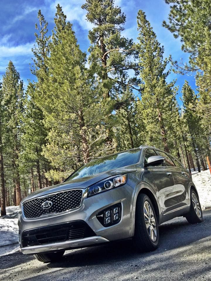 2017 Kia Sorento road trip to Mammoth, California