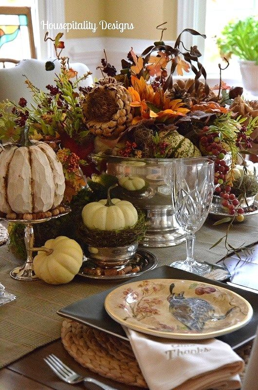 Tablescape ~ Fall, Thanksgiving: