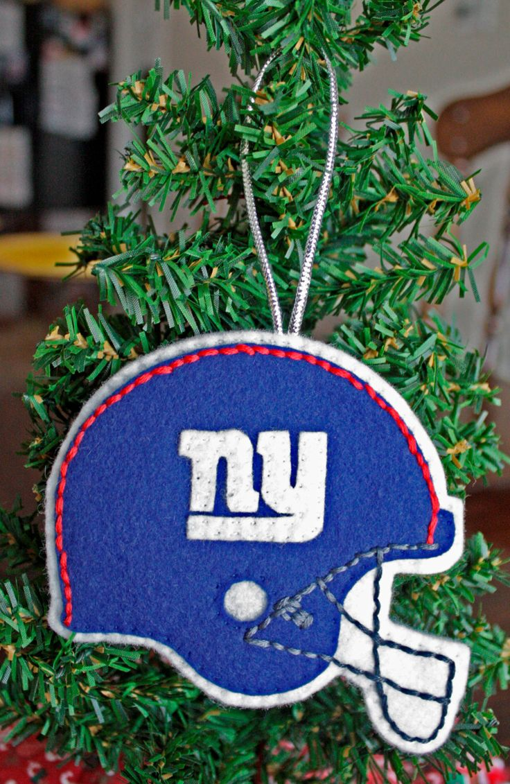 The 12 best images about new york giants ornaments on Pinterest ...