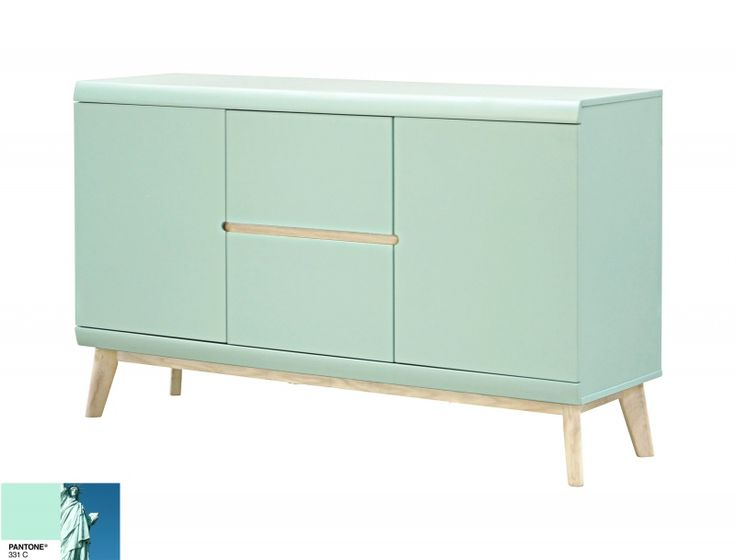 Jazz dressoir - Pantone mint green