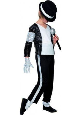 Kids Michael Jackson Billie Jean Costume