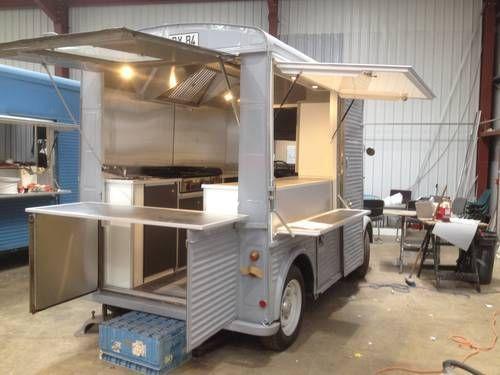 Citroen Hy van Food Truck Conversion For Sale