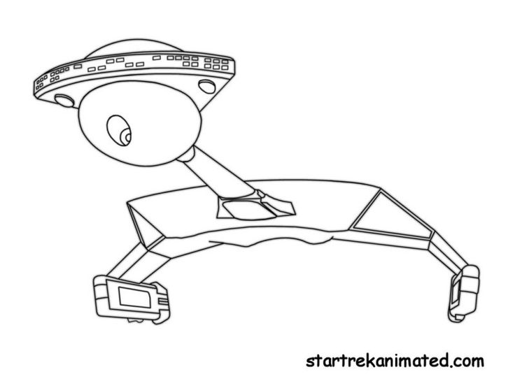star trek coloring pages - Star Trek Coloring Book