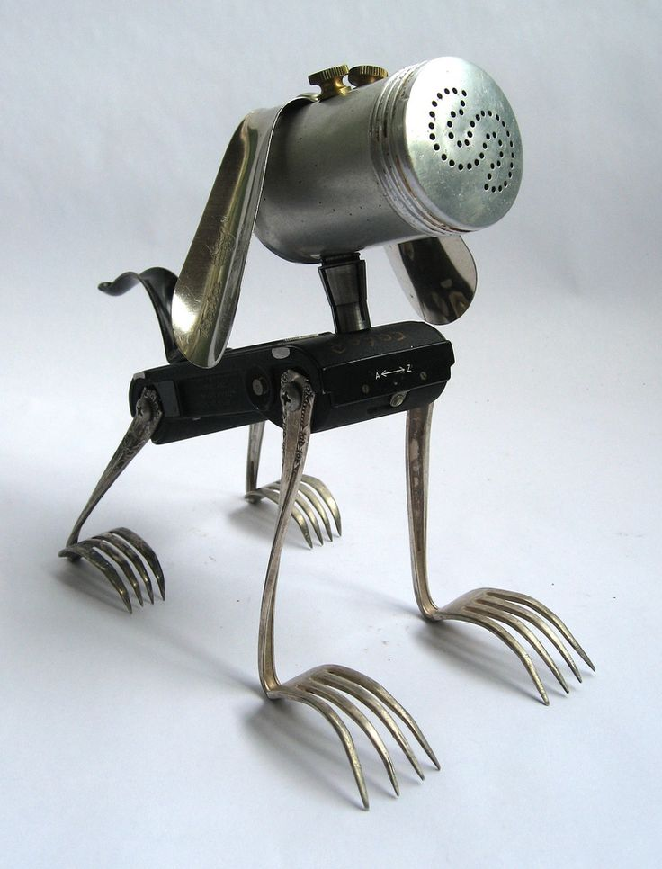 how to make a robot out of a tin can