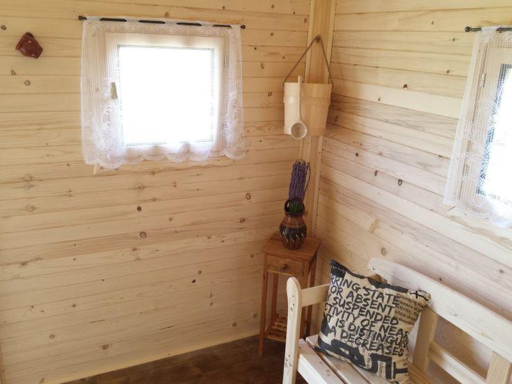 Svetlý drevený obklad