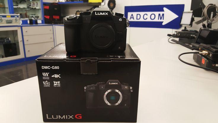 Nuova Fotocamera DMC-G80 Fotocamera con Sensore Live MOS da 16,05 Mpixel effetivi, standard Micro 4:3 e video in 4K Vieni a provarla oppure acquistala ora! Info e maggiori caratteristiche: https://www.adcom.it/it/search/q_n_30?searchstring=dmc-g80&marche=&sito=1&but-search=Cerca