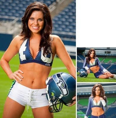 Seattle Seahawks Cheerleaders   Les cheerleaders des Seahawks de Seattle - Paperblog
