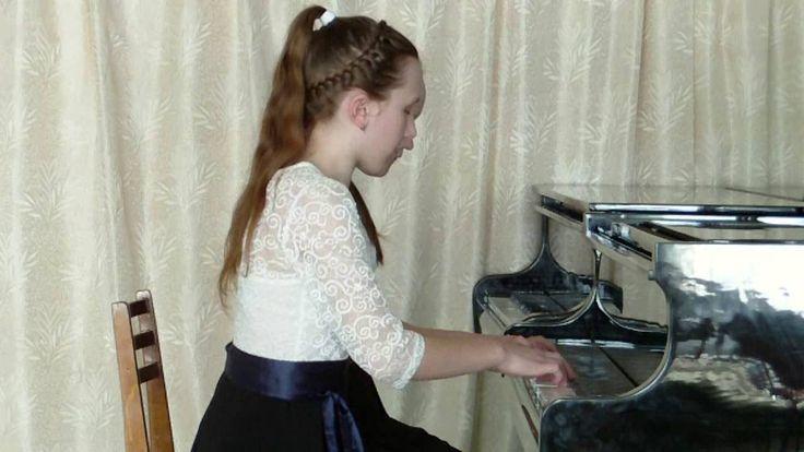 Игра на фортепиано. Музыка на пианино. Конкурс фортепиано для детей. Пьеса