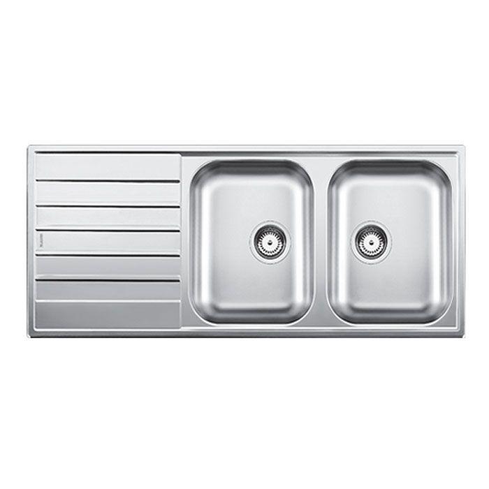 get top quality sinks with 25year warranty blanco livit 210 inset sink 1210lx500wx170h - Kitchen Sinks Sydney